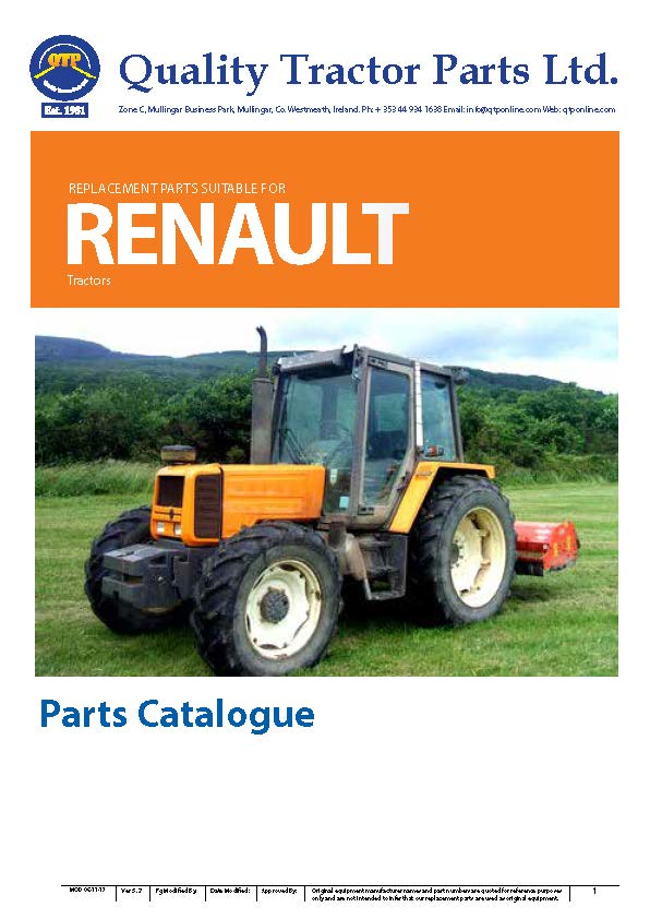Tractor Parts Catalogues : Quality tractor parts online catalogue